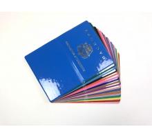 Обложка на паспорт из ПВХ импортного глянцевого