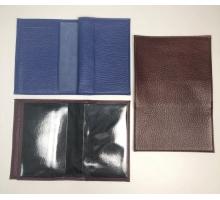 Автодокументы + паспорт из натуральной кожи с визиткой