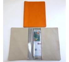 Органайзер для документов формат В5 из натуральной кожи флотер
