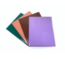 Органайзер для документов из ПВХ импортного глянцевого на 2 персоны